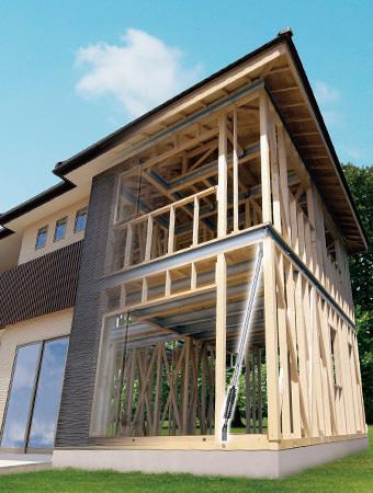 耐震住宅工法テクノストラクチャー