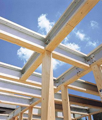 鉄と木の複合梁