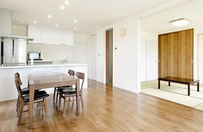 将来の同居を見据えた設計がポイント 2世帯プランの家